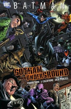 "So here are all the covers to ""Gotham Underground"" from DC comics linked together. Nightwing, Batwoman, Batgirl, Batman Vs, Batman Robin, Gotham Batman, Batman Arkham Asylum, Batman Poster, Batman Artwork"