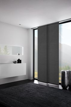 kurze schiebevorh nge gardinen pinterest gardinen vorh nge und fenstergestaltung. Black Bedroom Furniture Sets. Home Design Ideas