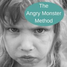 The Angry Monster Method is an anger management technique for children which will help your child learn how to deal with anger in a short space of time.