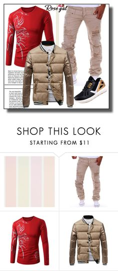 """""""Men Colors Rosegal II/16"""" by dzemila-c ❤ liked on Polyvore featuring rosegal"""