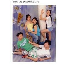 Can someone pls draw my squad like this