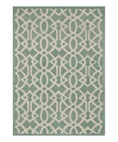 Look what I found on #zulily! Mist Brighton Wool Rug #zulilyfinds