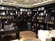Ikea study - shelving