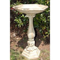 bird bath colors - Google Search