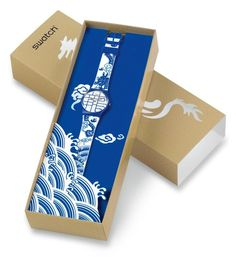 Year of the Dragon by Swatch watch #packaging PD