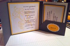 Trish Swagerty spent time on World Card Making Day making over 250 wedding invitations!