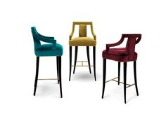 5 bold bar chairs styles for a modern kitchen - EANDA Bar Chair MARSALA pantone color trend 2015 European Furniture, Mid Century Modern Furniture, Kitchen Stools, Counter Stools, Bar Furniture, Furniture Design, Bar Chairs, Dining Chairs, Geometric Furniture