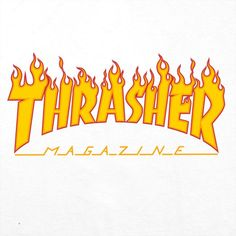 Thrasher Flame, Thrasher Magazine, Bubble Stickers, Skate Art, Graffiti Lettering, Aesthetic Stickers, Grafik Design, Abstract Styles, Logo Design Inspiration