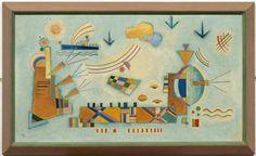 wassily kandinsky,  evento dulce 1928