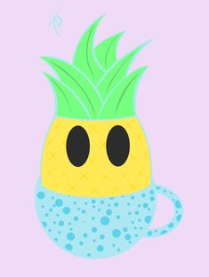 Pineapple Tea Pineapple Tea, Tweety, Pikachu, Outdoor Decor, Fictional Characters, Flower, Fantasy Characters, Flowers