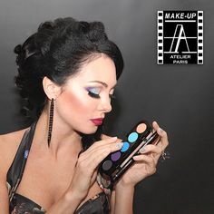 """The special course for make-up artists, who wants to get new knowledge, study an exclusive techniques and upgrade the skills. Course Program  Make-up tools. Make-up products, Basics of """"3D"""" Make-Up, Esthetic Make-up (use of aqua and eye shadow), Arabic make-up. Khaleeji t"""