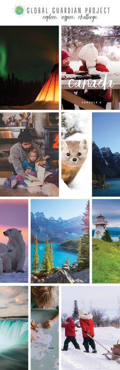 Ever thought about visiting Canada? Its beauty can be found on land and in the sky, through animals and its natural environment! Learn more in our Explore Canada Learning Capsule.