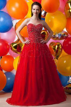 Pretty A-Line Floor-Length Sweetheart Sequins Maria Anastasia's Prom Dresses 1