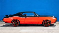 Indiana Pacer George Hill's 1971 Oldsmobile Cutlass