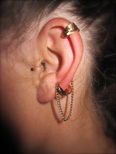 DIY Feather Ear Cuff