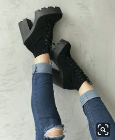 High Heel Boots, Heeled Boots, High Heels, Shoes Heels, Hype Shoes, Gucci Shoes, Kawaii Shoes, Aesthetic Shoes, Cute Boots