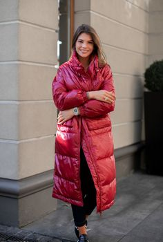 Puffer Jackets, Winter Jackets, Rose Jacket, Langer Mantel, Jackets For Women, Coat, Sexy, Womens Fashion, How To Wear