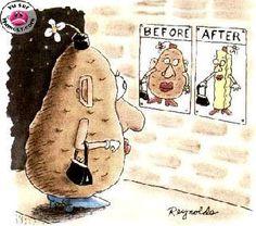 Frite alors !!   #humour #régime