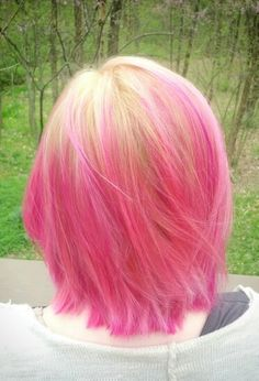 Shades of Pink for Spring #haircanvas #canvas #joico #kpak #softpink #clear #magenta #lightpurple #pink #bubblegum #cottoncandy #hair #spring #2016 #blonde #roots #blend #color #intensity #bright #pretty #fresh #girly #barbie