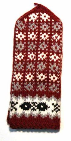 mittens 3708 Knit Socks, Knitting Socks, Hand Knitting, Knitted Hats, Knitting Patterns, Knitting Accessories, Nordic Style, Mitten Gloves, Christmas Sweaters