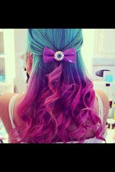 Dip Dyed Hair c: