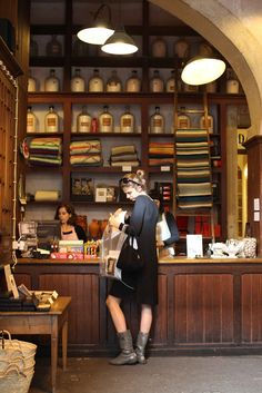 A vida portuguesa, loja vintage - Porto - Portugal Shared by Motorcycle Fairings - Motocc Porto Portugal, Shop Fronts, Shop Around, Retail Space, Retail Shop, Cafe Restaurant, Boutiques, Retail Design, Store Design