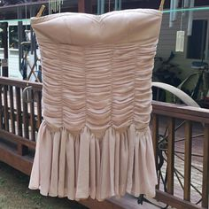 Party & Holiday Dress - Strapless Dress