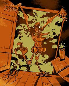 Polednice - Vladimír Strejček Grimm, Comic Books, Cover, Art, Art Background, Kunst, Cartoons, Performing Arts, Comics