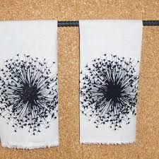 black dandelion print - Google Search
