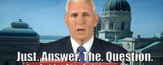 Indiana Governor Pence Can't Answer a Yes or No Question: Why Indiana's religious freedom and restoration act is different from other laws the federal government and 19 other states enacted two decades ago.