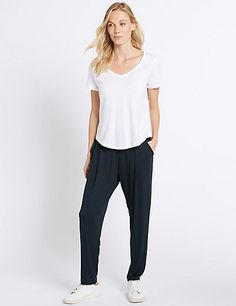 Tapered Leg Joggers | M&S