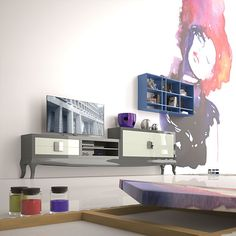 Ambiente Salon Moderno Evans - Modern Living Room Evans