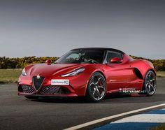 Alfa Romeo 4C di seconda generazione