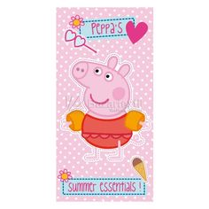 Toallas Playa Peppa Pig - Bazartextil.com