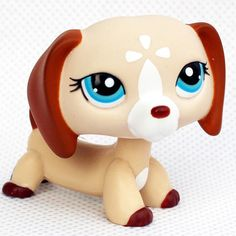 rare pet shop lps toys standing littlest dog collie dachshund cocker spaniel Great Dane original collection figure toys gifts
