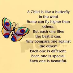 Kindermusik Quote, child quote A Child is like a butterfly quote #kindermusik #growandsingstudios