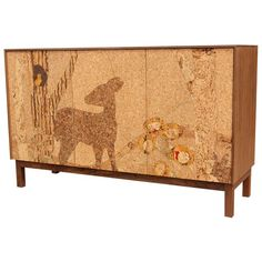 Cork Forest Mosaic Sideboard