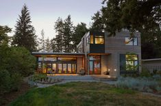 i'll take one of these please! coates architects home in seattle. #modernarchitecture #northwest
