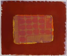 Nick's Room by Sir Howard Hodgkin 1977 Heenk signed lithograph, edition of Howard Hodgkin, Pavement, Printmaking, Screen Printing, Contemporary Art, Abstract Art, Mixed Media, Paintings, Artists