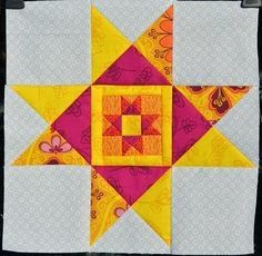 Ohio star from Sewing.org Are there stars out tonight? Almost every quilter I know did an Ohio Star at least once. And if you haven't,...