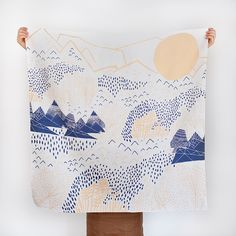 FRAME THIS FUROSHIKI FOR WALL ART!