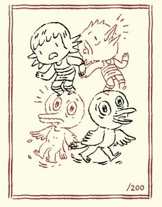 Matt Forsythe is a Montreal based illustrator, who makes comics and children's books. Great stuff!