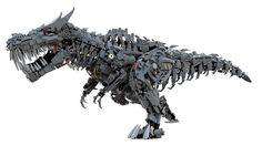 Lego Grimlock | Flickr - Photo Sharing!