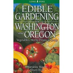 This is one of the books listed at NWFGS for a book signing. I've gleaned tons of info from this book for local gardening and it's beginner accessible. Very useful, simple and a great one to start your NW Veggie Garden book collection. Get it signed at NWFGS!