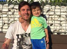 Messi and Thiago