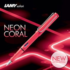 2014 Lamy Safari: neoncoral Just got this one in from gouletpens.com. I am in love!!