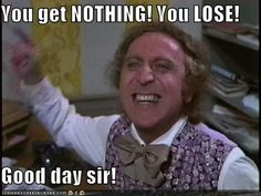 """""""I SAID GOOD DAY!!!"""" Gene Wilder's best performance in ANYTHING."""
