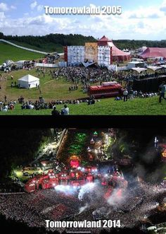 Tomorrowland grew a bit