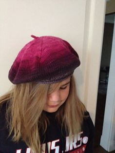 Ravelry: Classic French Beret pattern by Erika Larner Baby Boy Knitting Patterns, Hat Patterns, Baby Knitting, Knitted Beret, Waffle Stitch, Erika, Ravelry, French, Classic