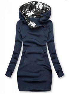 Sweat Shirt, Sweat Dress, Neck T Shirt, Sport Pullover, Printed Sweatshirts, Hoodies, Winter Fits, Fall Winter, Cute Winter Outfits
